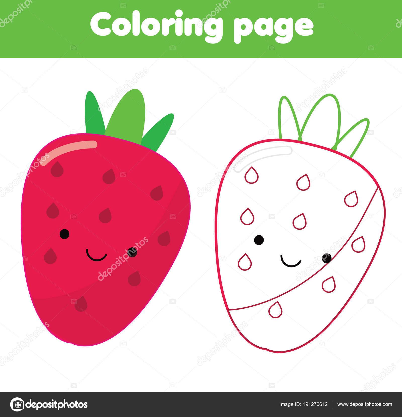 Shocking Strawberry Printable