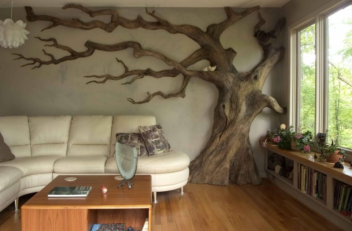 8. Puedes tener una casa 'salvaje' gracias a los árboles secos de interior