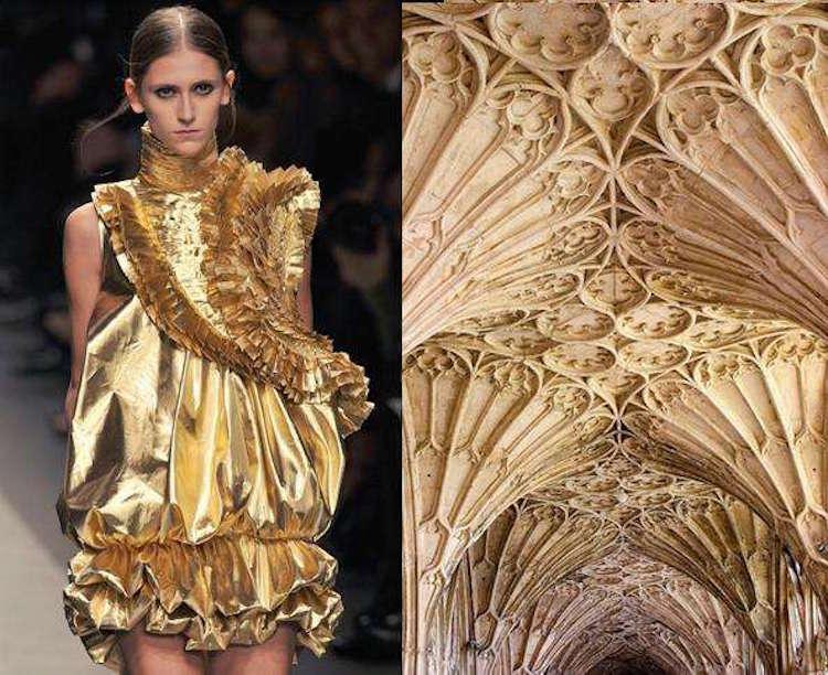 Givenchy Fall/Winter 2008 | Techo de edificio gótico