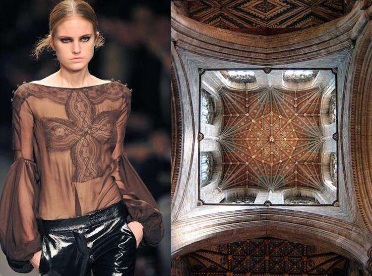 Givenchy Fall/Winter 2008 | Catedral de Peterborough
