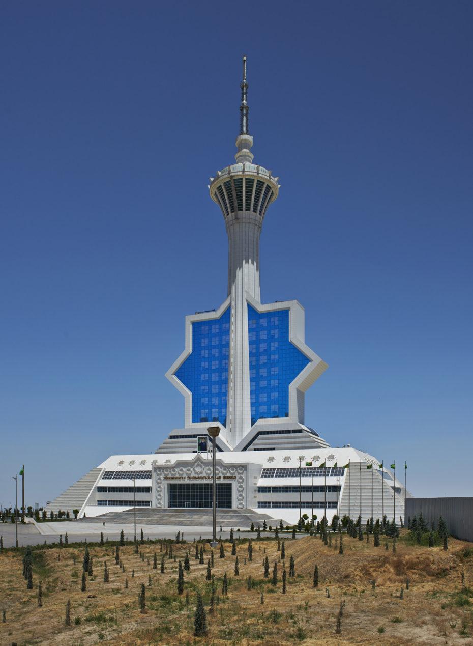 La Torre de Turkmenistán en Asjabad