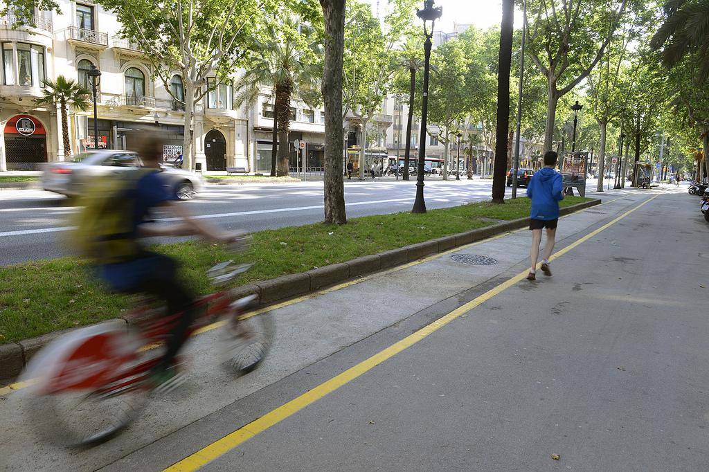 carril bici en la Diagonal / Flickr/Creative commons