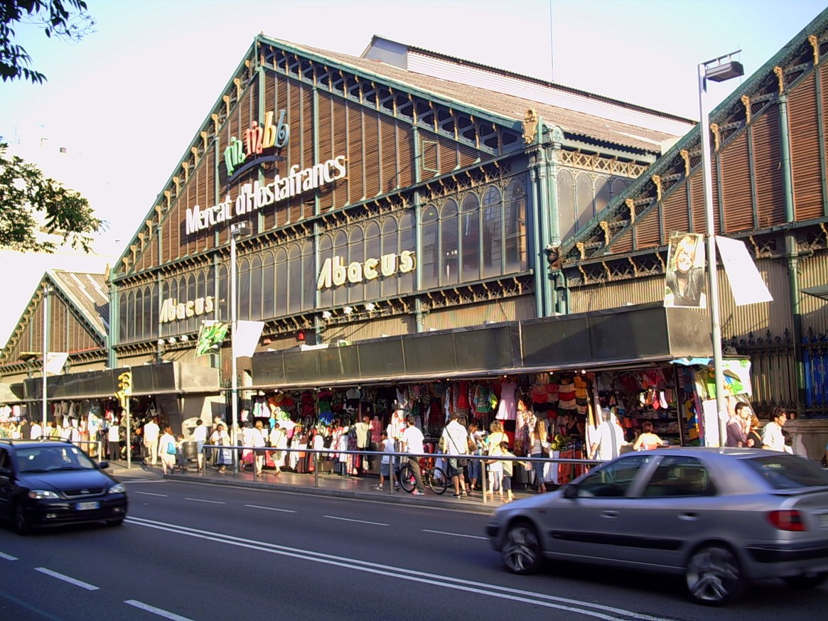 Mercat de Sants-Hostafrancs / Wikimedia commons