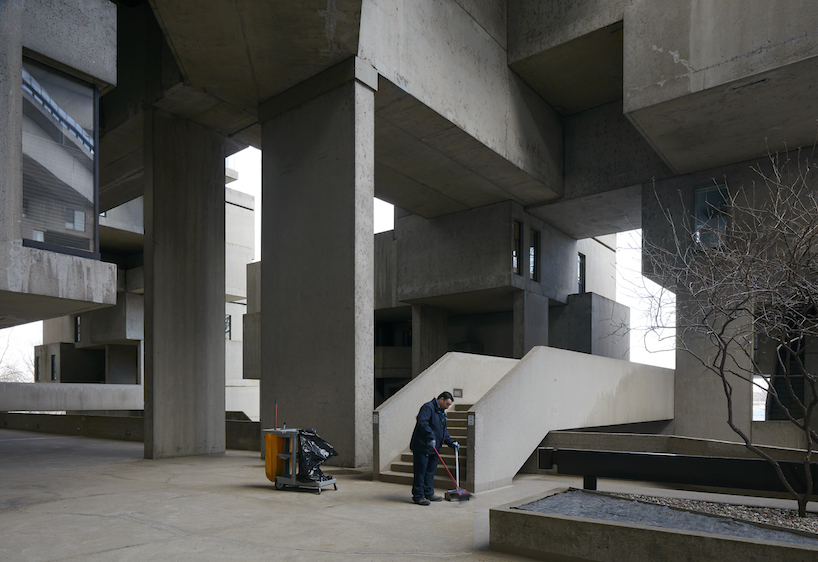 Interior del complejo resiencial