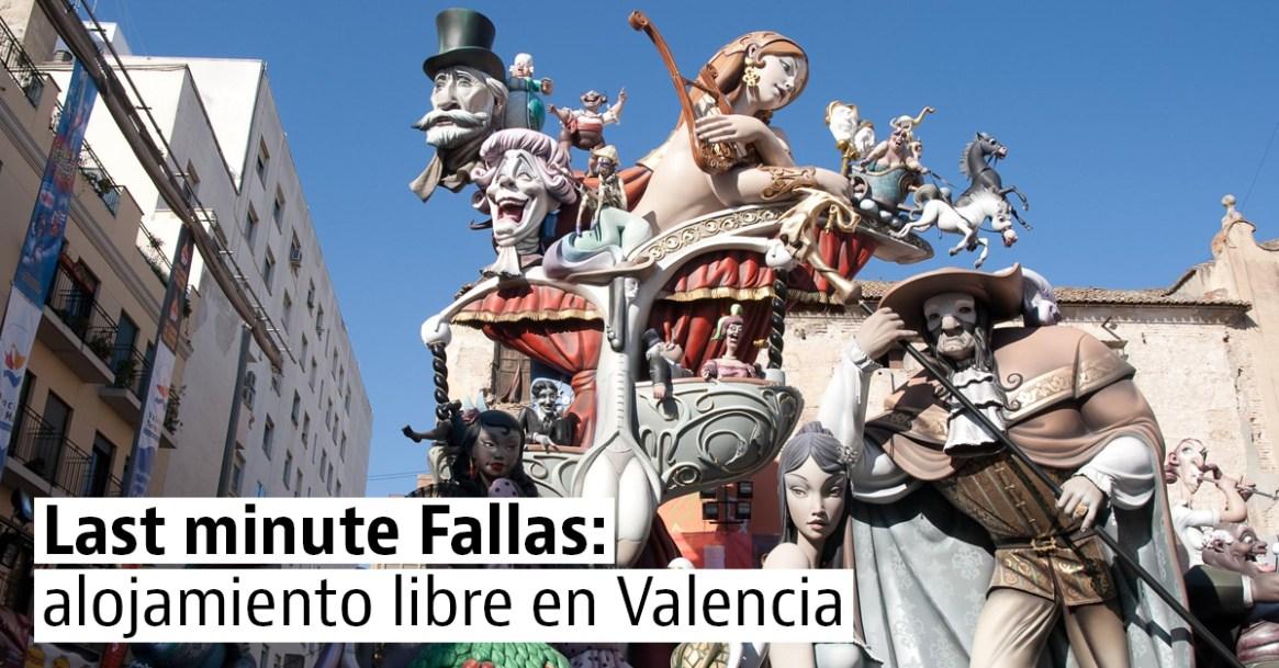 Alojamiento de última hora en Valencia para disfrutar de las Fallas