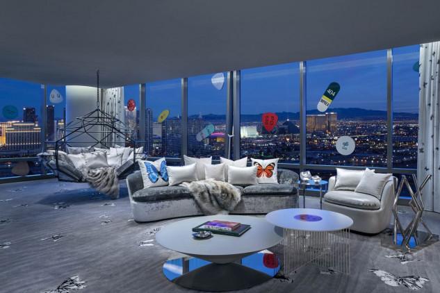 La habitación posee 2.300 m2 / Bloomberg