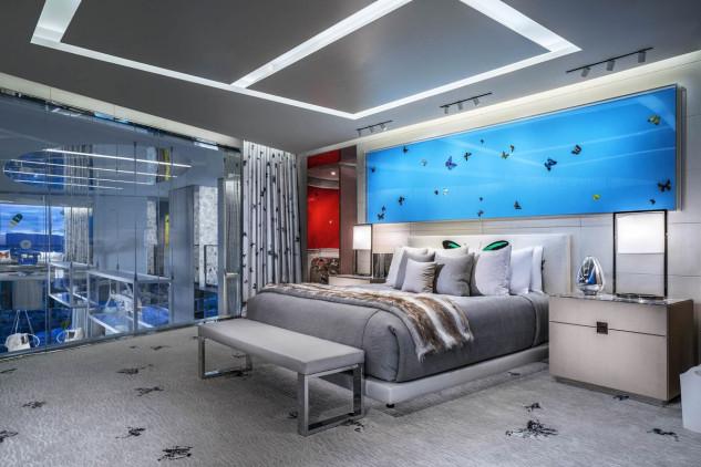 Más que una habitación parece una obra de arte / Bloomberg