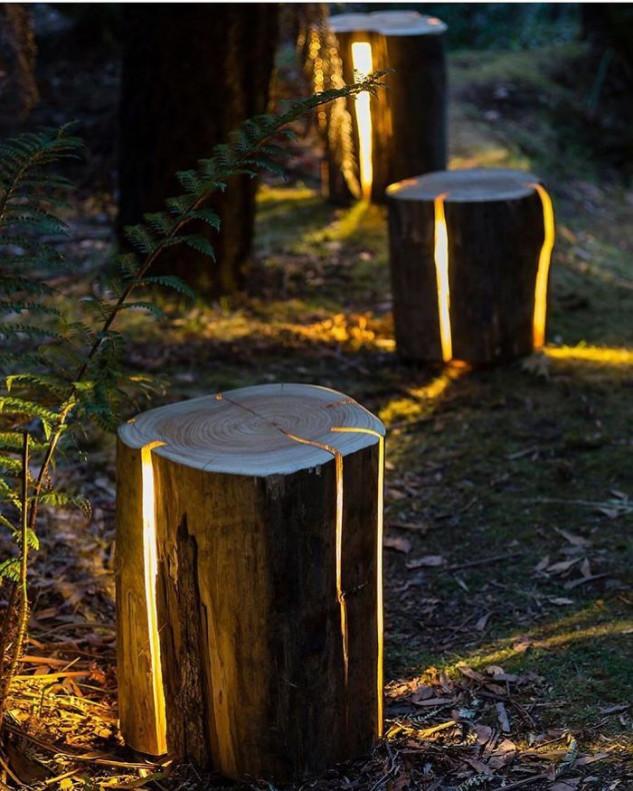 Troncos iluminados / Topdezigners