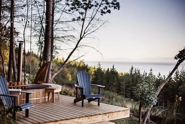 Una terraza tranquila