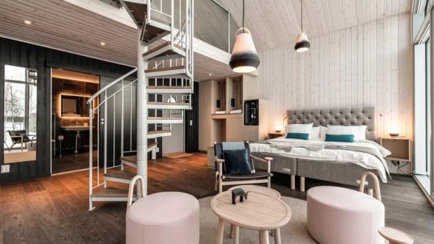 La 'suite' de más de 60m2 / Arctic Bath/Anders Blomqvist/Pasquale Baseotto/Johan Jansson