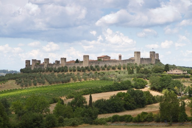 Fortaleza de Monteriggioni https://www.flickr.com/photos/isabelle_puaut/