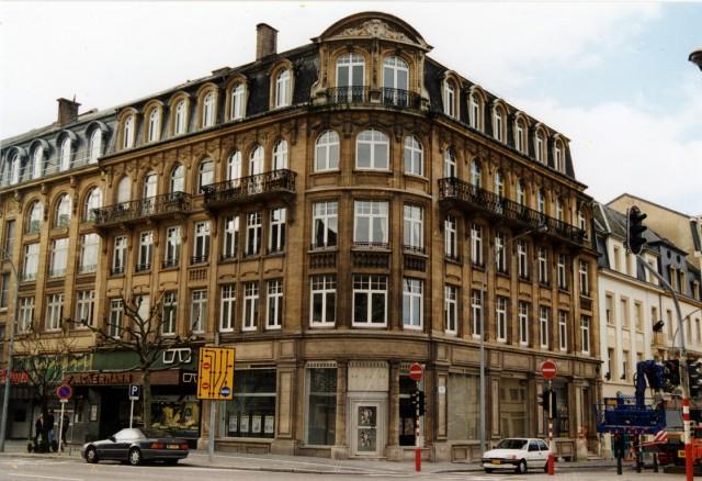 Edificio histórico en Luxemburgo (Luxemburgo)