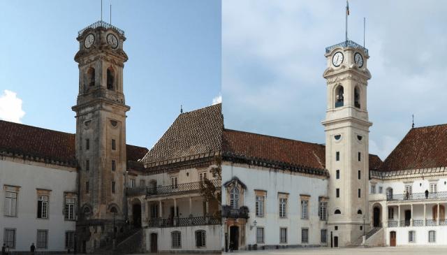 Torre da Cabra de la Universidad de Coímbra (Portugal)