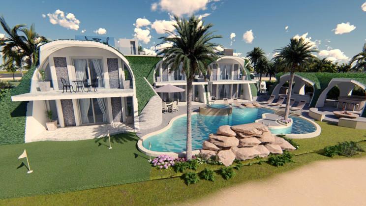 La gama de lujo de la compañía / Green Magic Homes