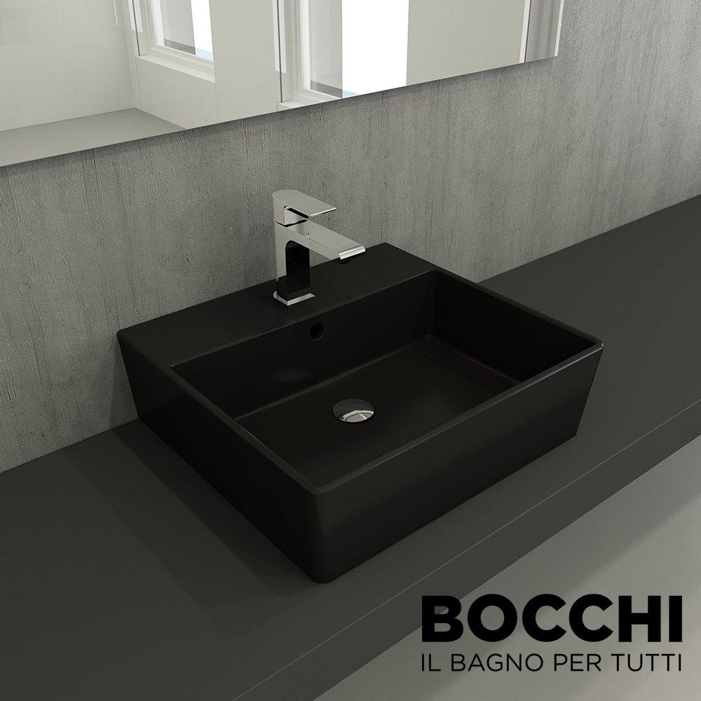 bocchi milano lavabo 50 cm mat siyah