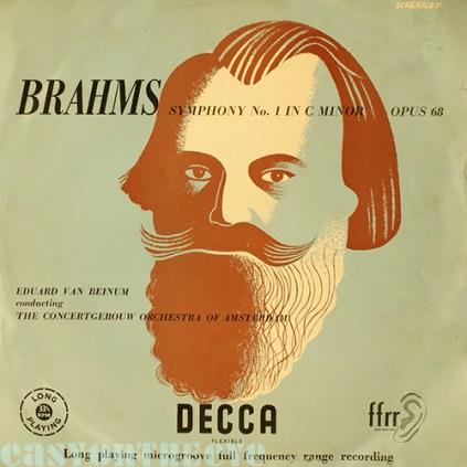 Decca Brahms LXT 2676 1953