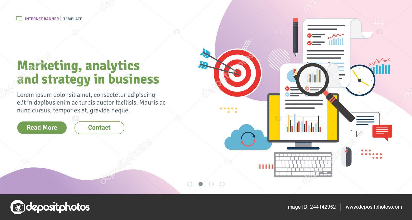 Marketing Analytics Strategy Business Data Analysis Digital
