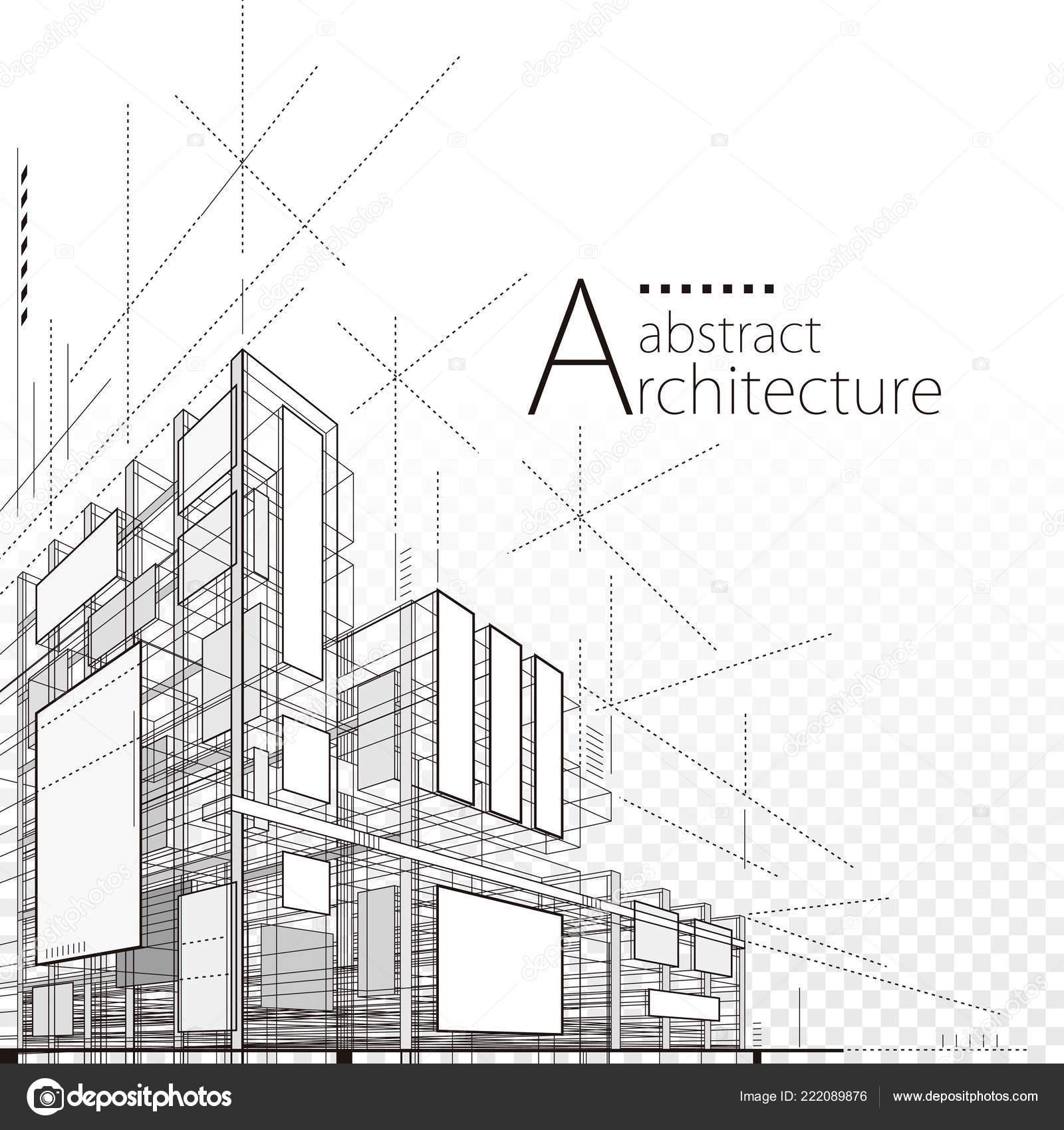 Arquitetura Construcao Abstrato Concepcao Construcao