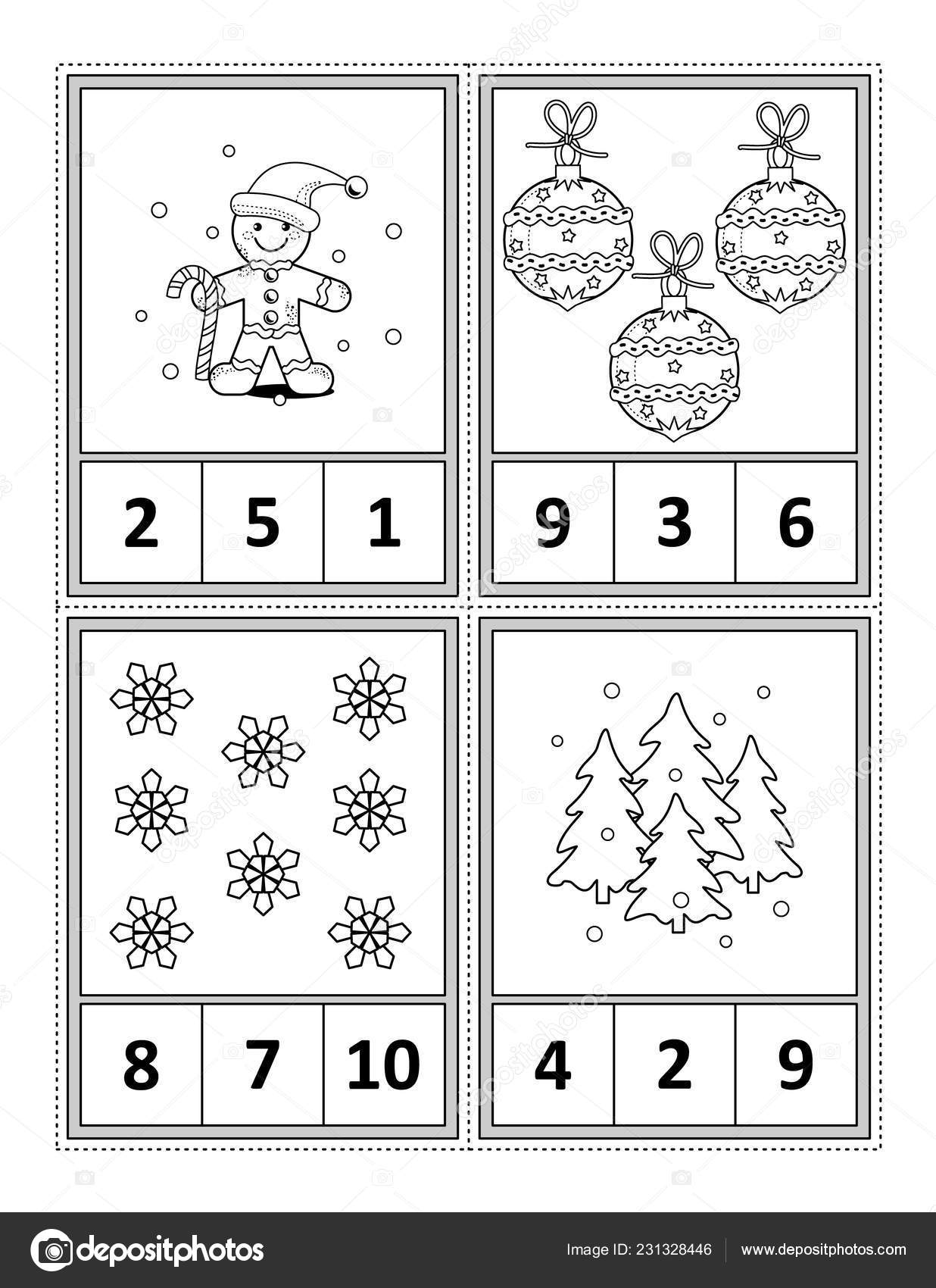 Worksheet Counting Snow Flakes