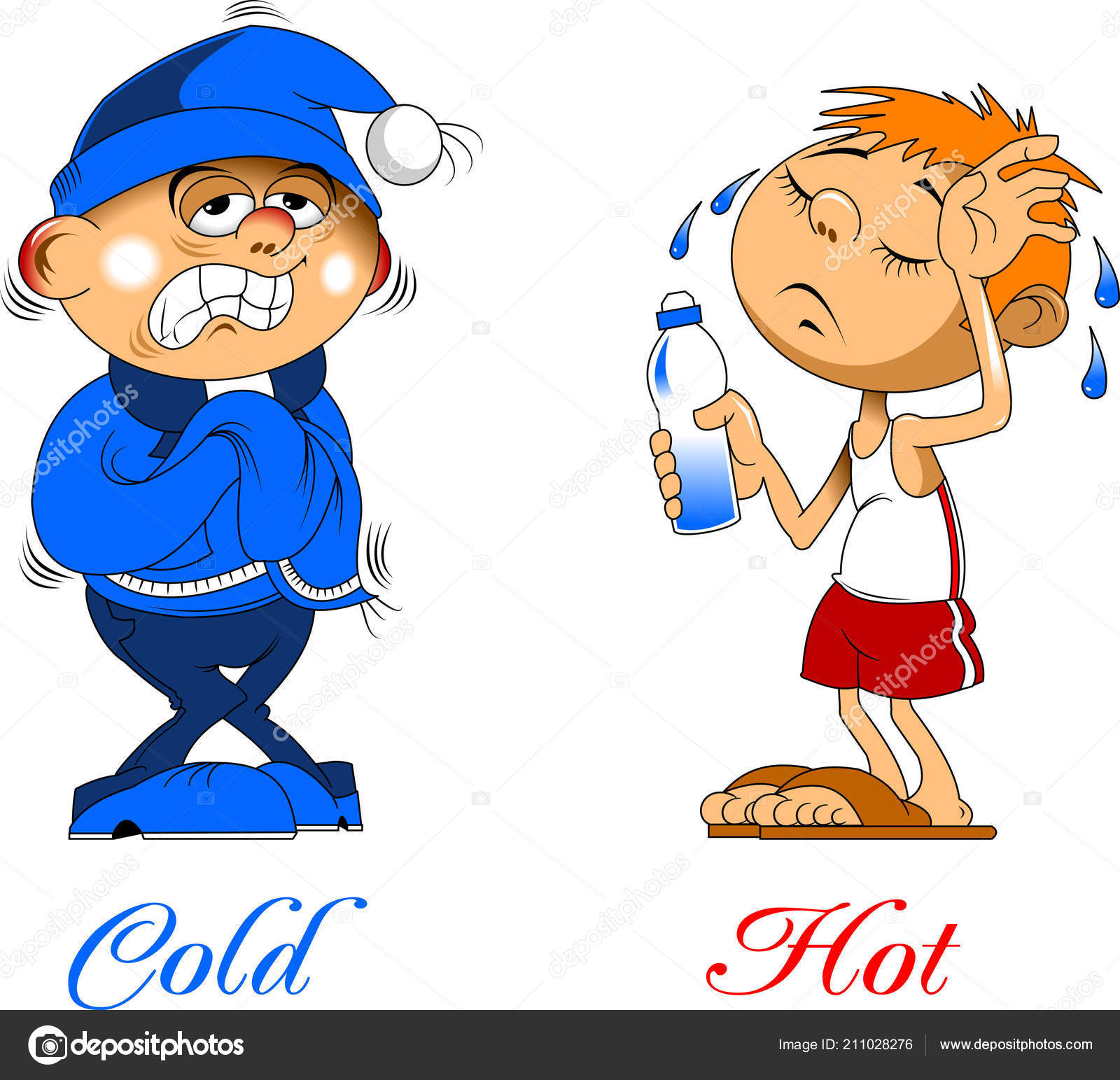 Clipart Hot And Cold