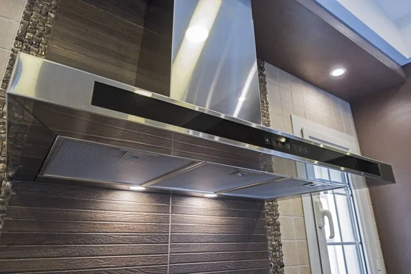 hotte cuisine moderne dans un