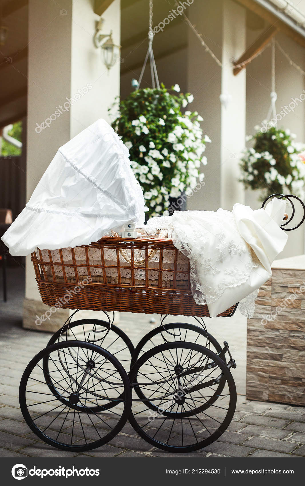 https depositphotos com 212294530 stock photo vintage pram baby baby stroller html