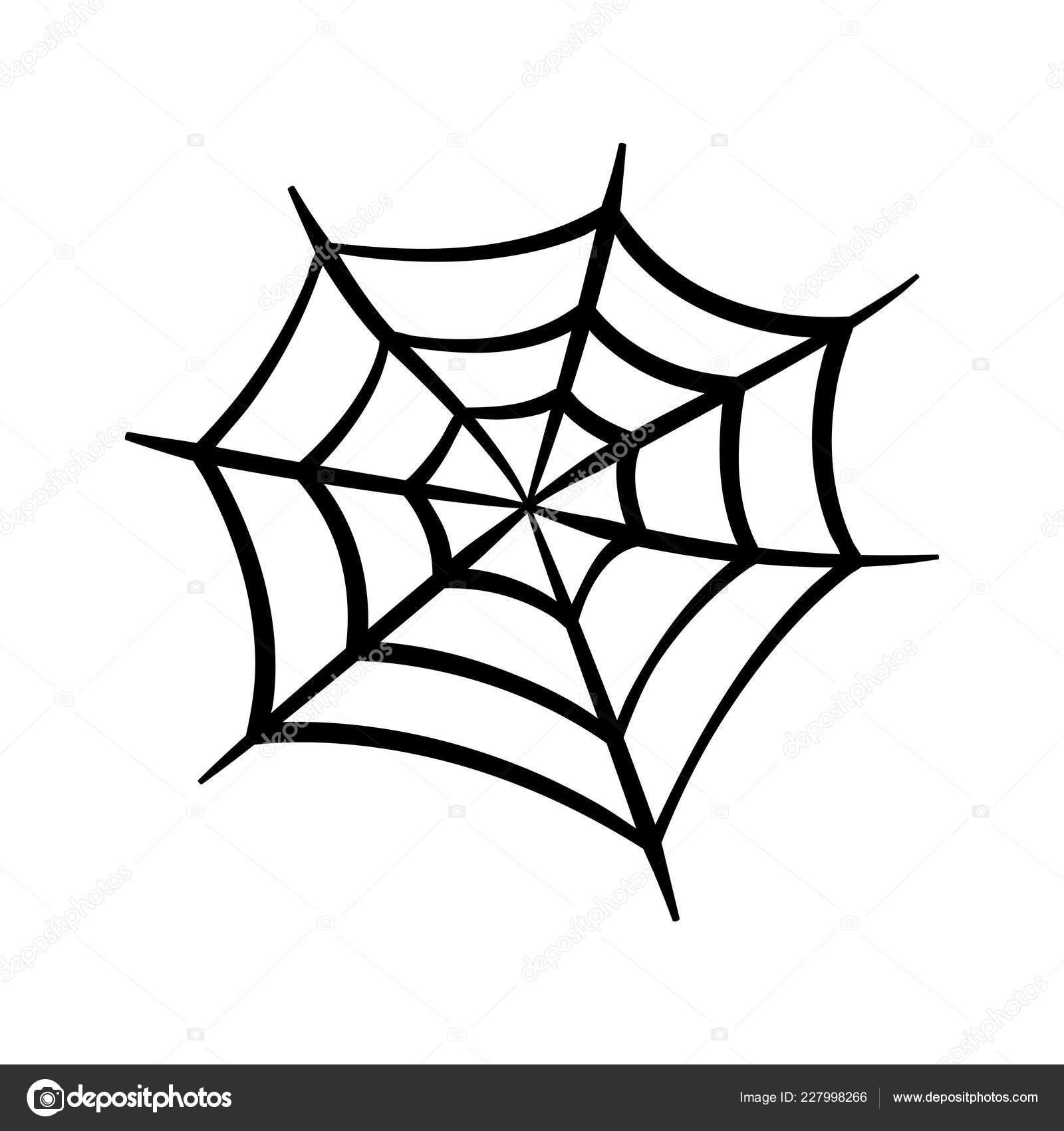 Clipart Spider Web