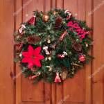 Beautiful Decoration Door Christmas New Year Handmade Wreath