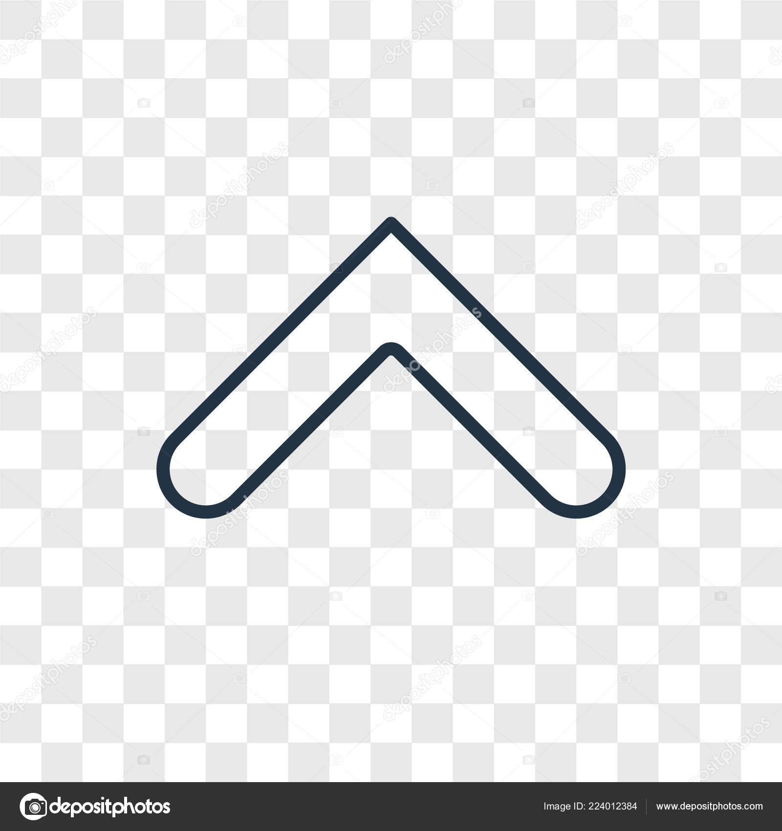 Arrow Icon Trendy Design Style Arrow Icon Isolated