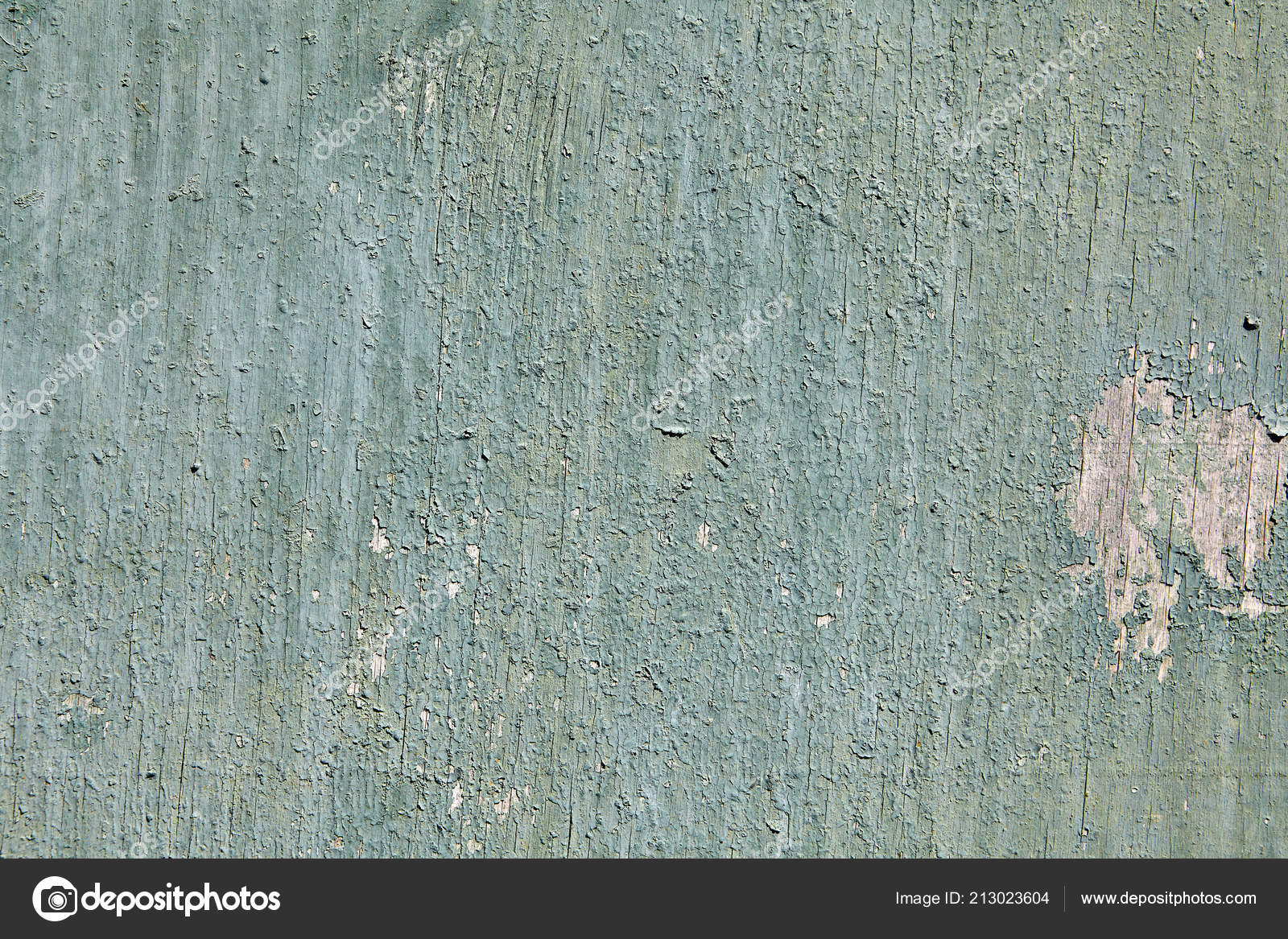 Closeup Peeling Pale Green Paint Surface Old Cracked Sheet Plywood Stock Photo C Grigvovan 213023604