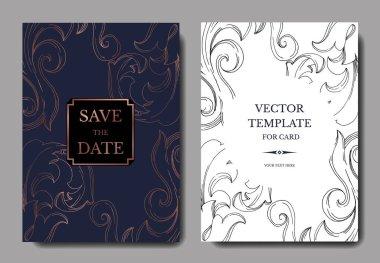 royal blue wedding invitation free