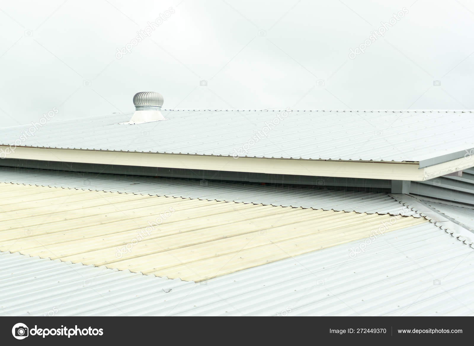 stainless steel roof ventilation air vent metal roof sky background stock photo image by c joebite 272449370