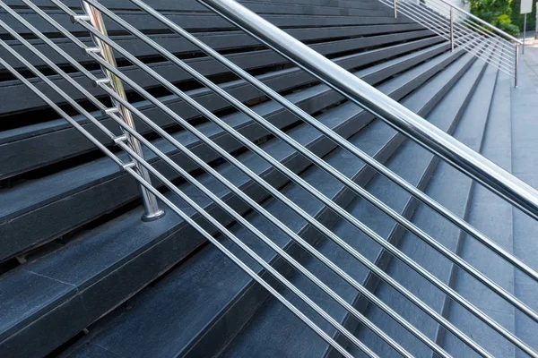ᐈ Stainless Steel Railing Stock Pictures Royalty Free Stainless   Stainless Steel Banister Rail   Ags Stainless   Satin Stainless   Metal Fabrication   Railing Designs   Cable Railing Kits
