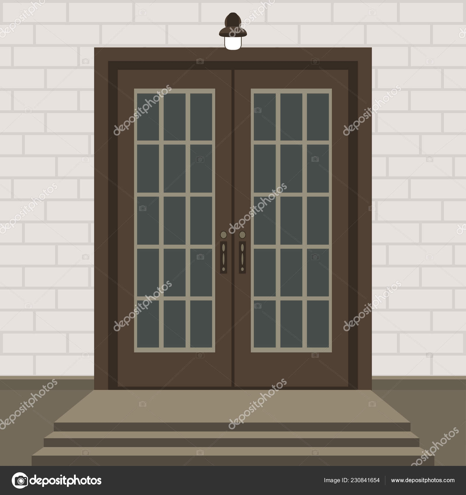 Front Porch Brick Steps Designs House Door Front Doorstep Steps | Brick Front Step Designs | Patio | Entry | Front Entrance Front Porch Wall Tile | Raised Front | Bluestone Treads 24 Inch Rise