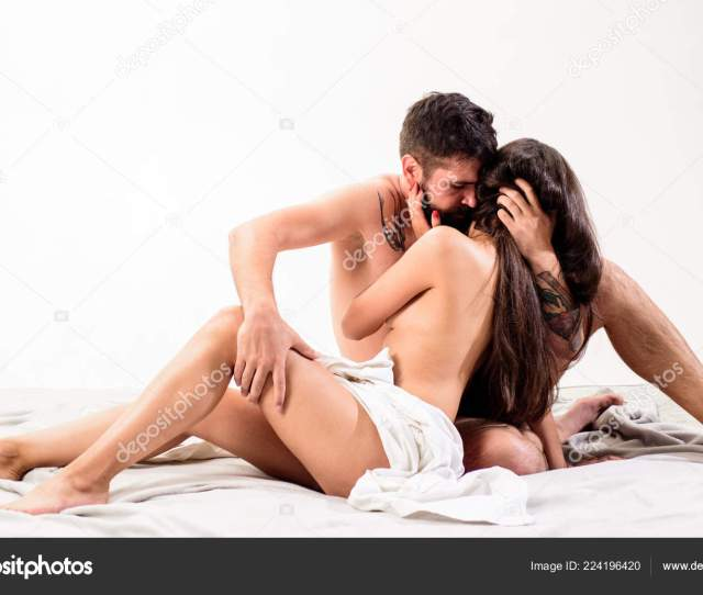 Sensual Foreplay And Intimacy Lovers Naked Hug Or Cuddling Intimacy Moment Intimacy And