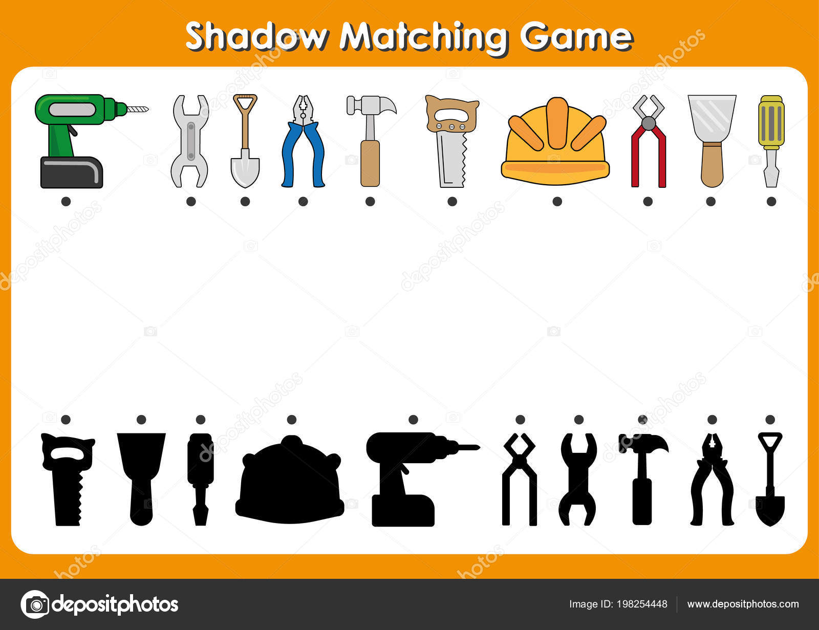 Community Helper Worksheet Matching Shadow