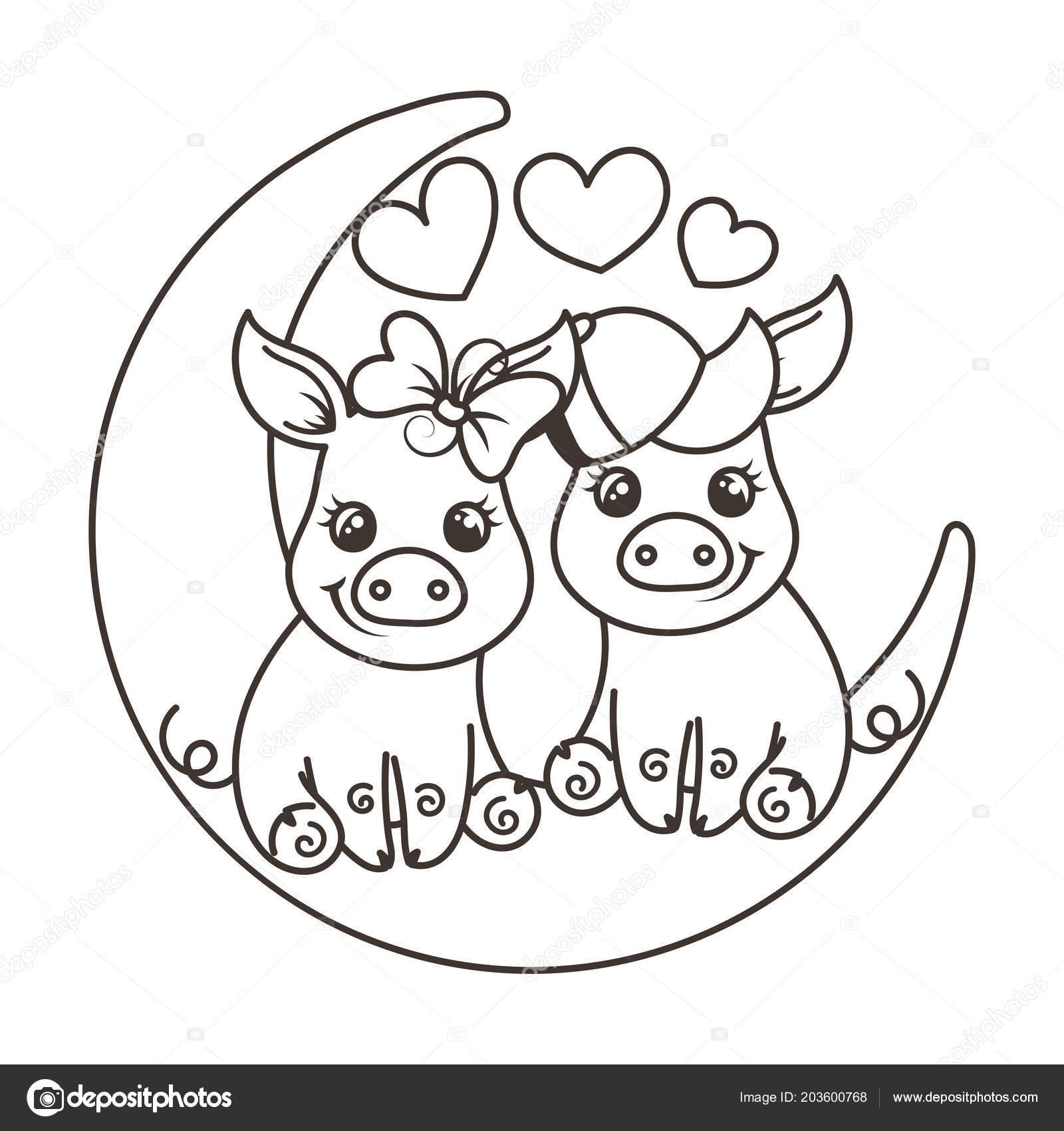 Imagenes De Dibujos Animados Para Colorear De Amor On Log Wall