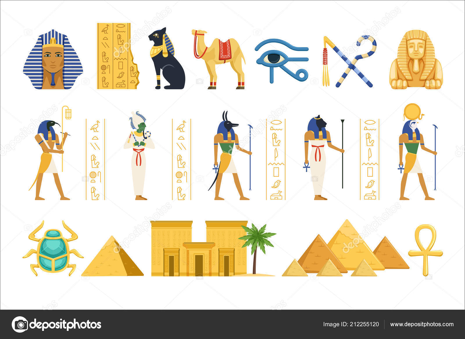 Áˆ Anubis Stock Pics Royalty Free Egyptian Thoth Pictures Download On Depositphotos