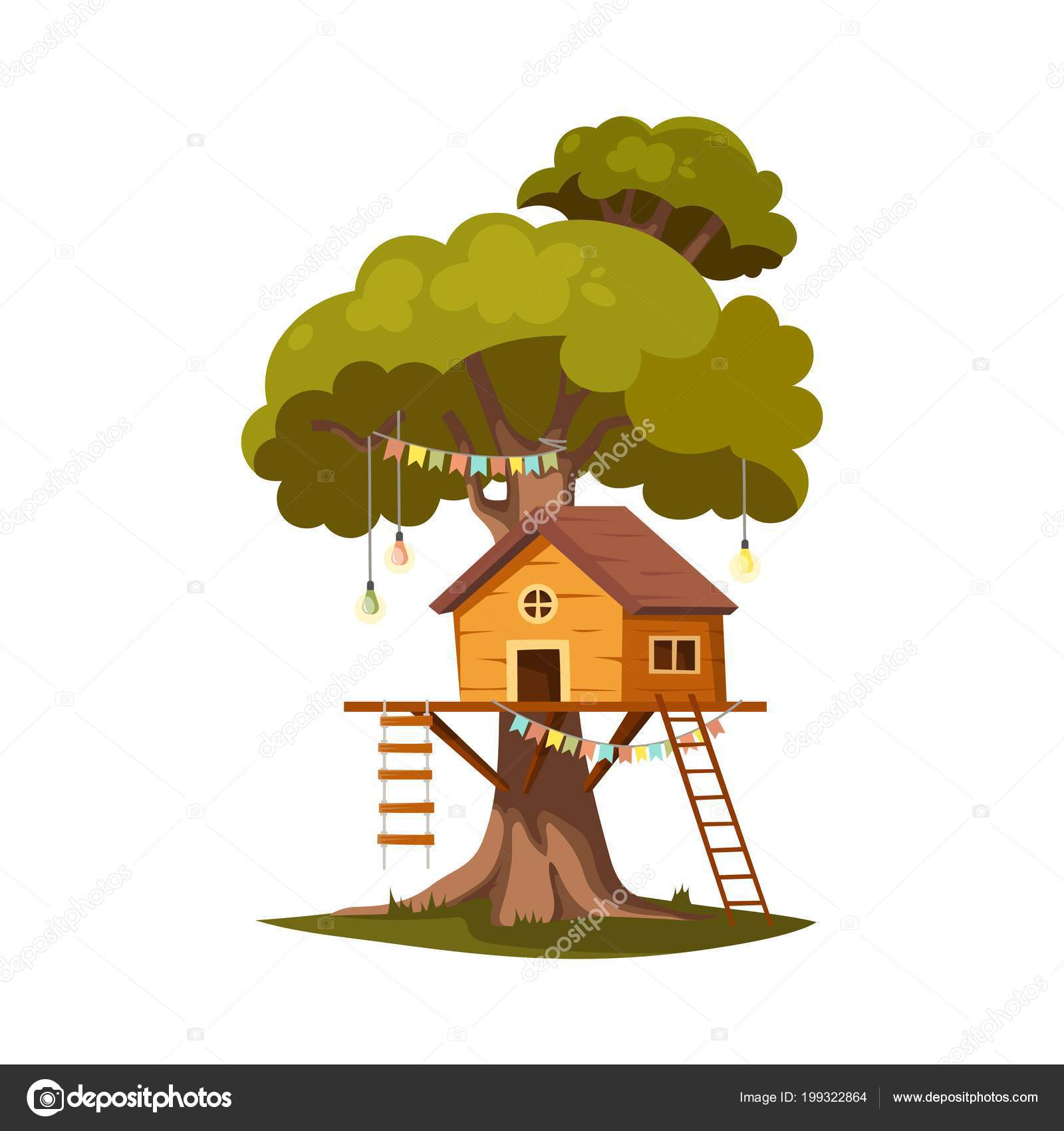 ᐈ Kid Tree House Stock Pictures Royalty Free Kids Treehouse Images Download On Depositphotos