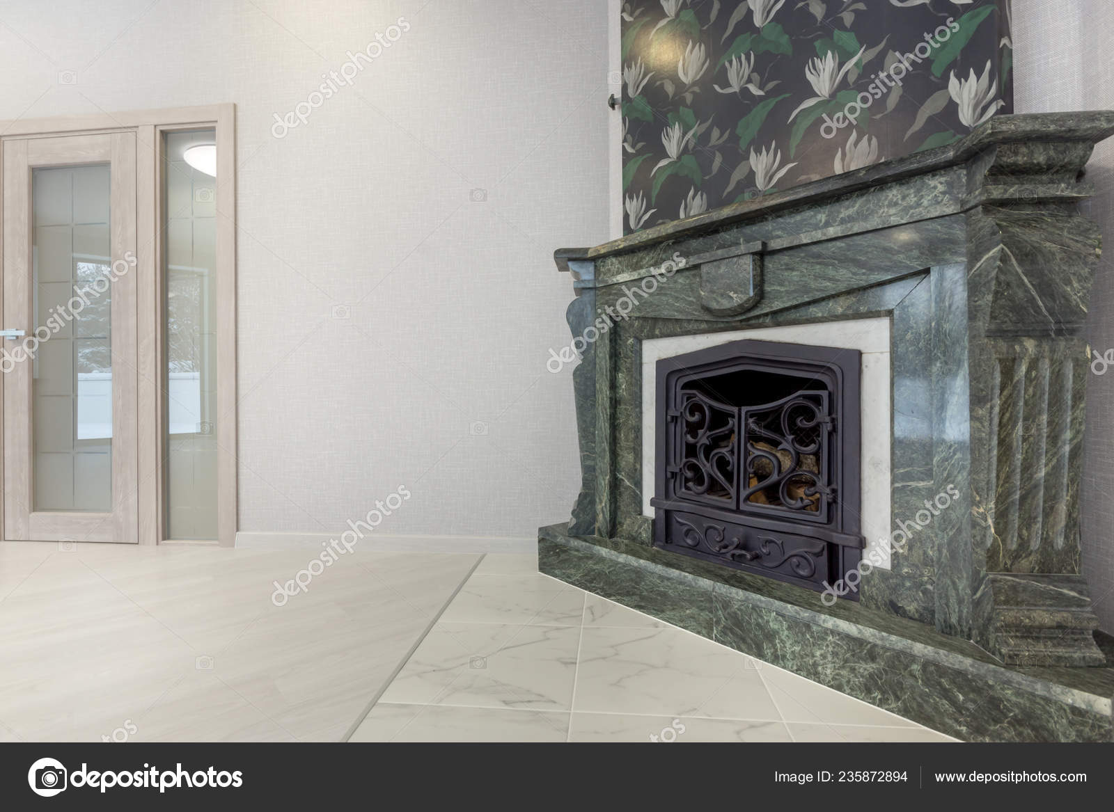 https depositphotos com 235872894 stock photo traditional large marble fireplace close html