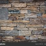 Abstract Stone Texture Background Of Wall Fence Home And