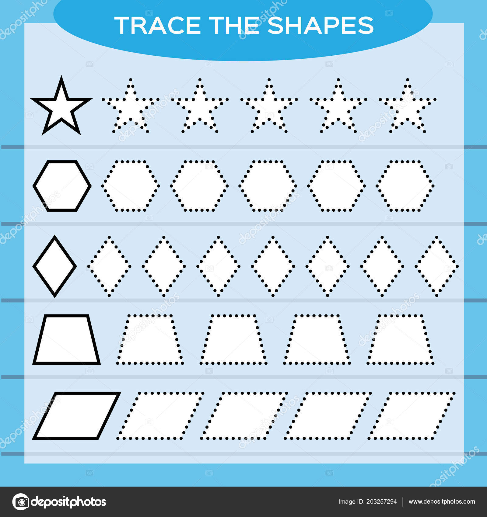 Pictures Shapes For Preschool