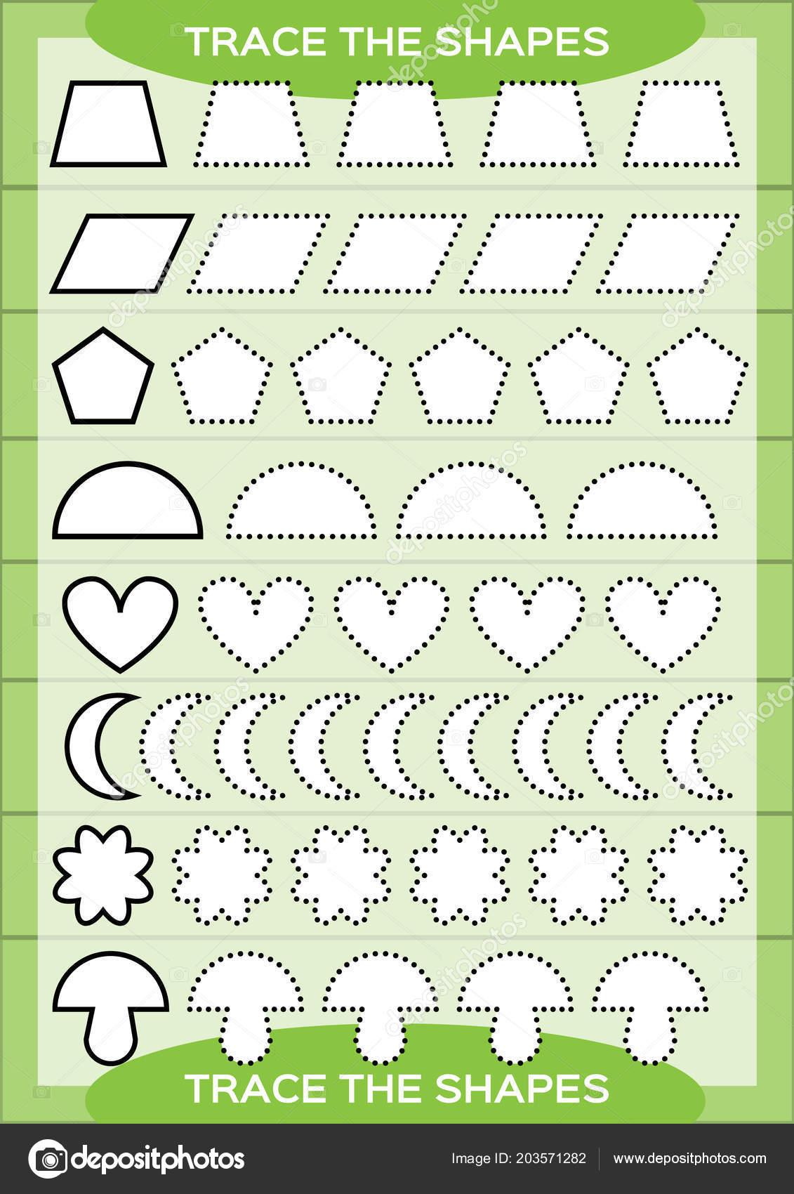 Flower Shapes Printable