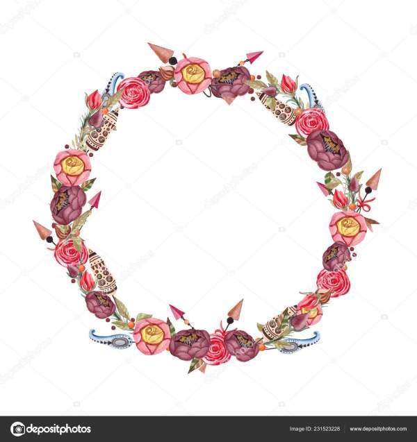 wreath template printable # 21