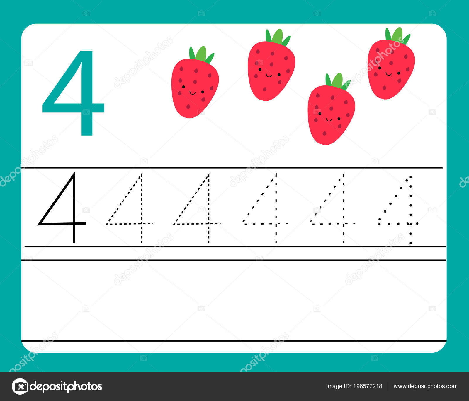 Cute Numbers Printable
