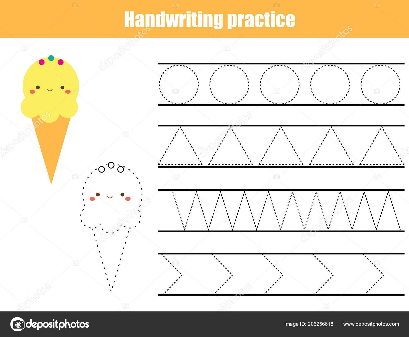 Childrens Handwriting Practice Sheets