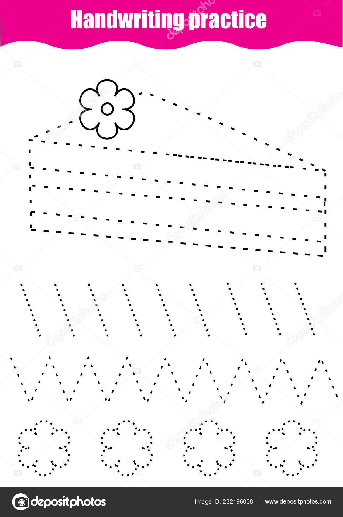 Folha Treino Caligrafia Planilha Jogo Printable