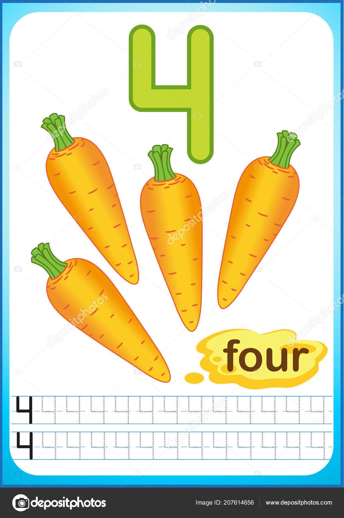 Preschool Vegetables Worksheets