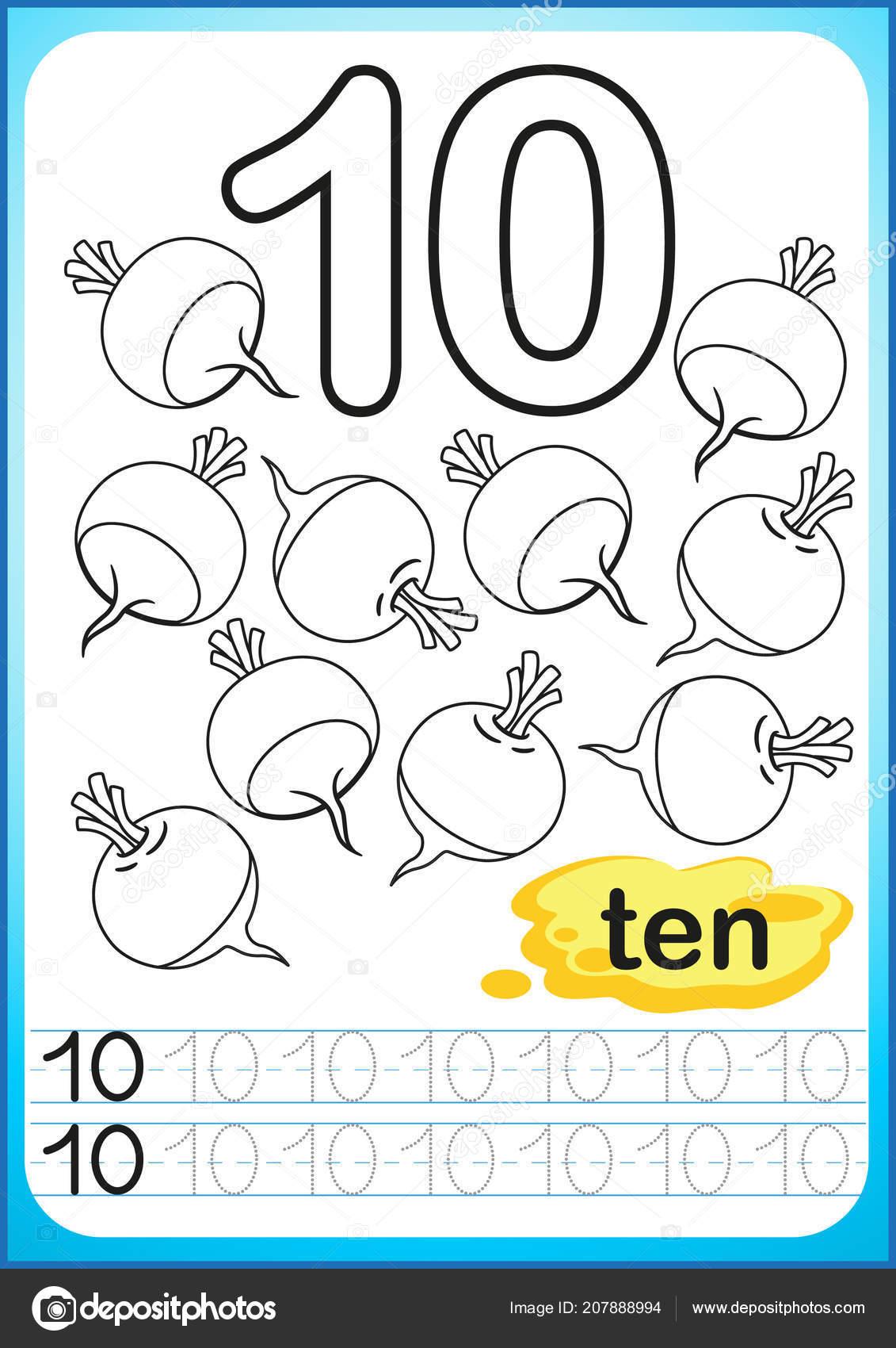 Notas Vectoriales De Dibujos Animados Con Numero Negro 6