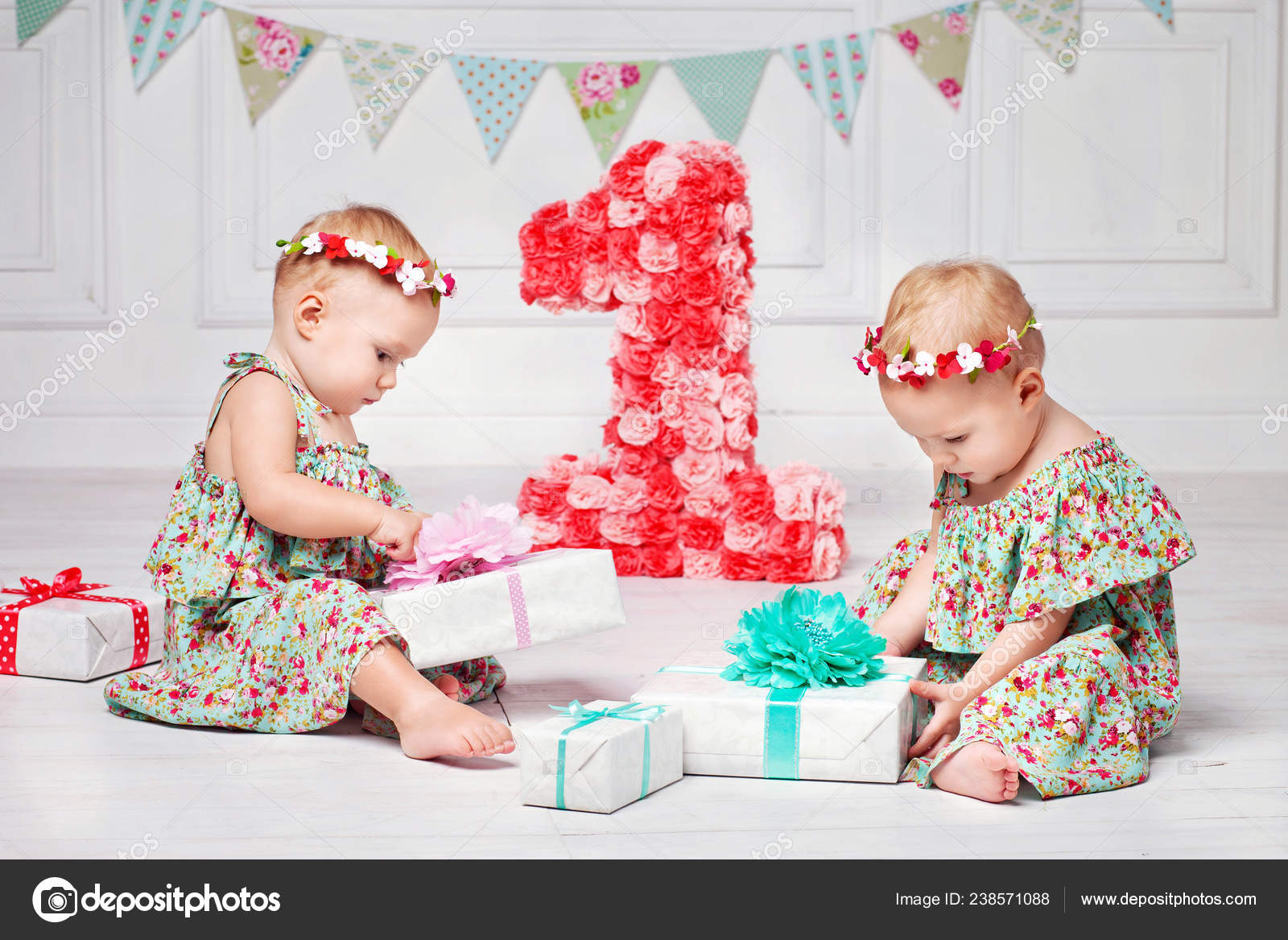 One Year Old Twins Birthday Gift Cheap Online
